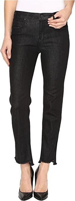 Shark Bite Straight Leg Jeans in Gothic