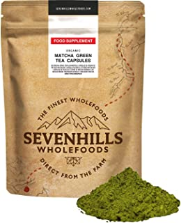 Sevenhills Wholefoods Matcha Té Verde En Polvo Japonés Clásico Orgánico 200g