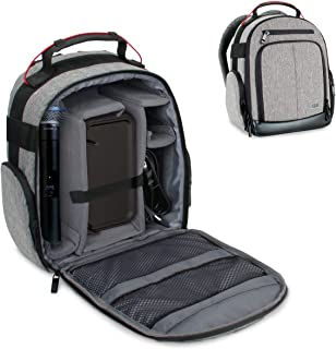 USA GEAR Audio Equipment Backpack - Microphone Case for...