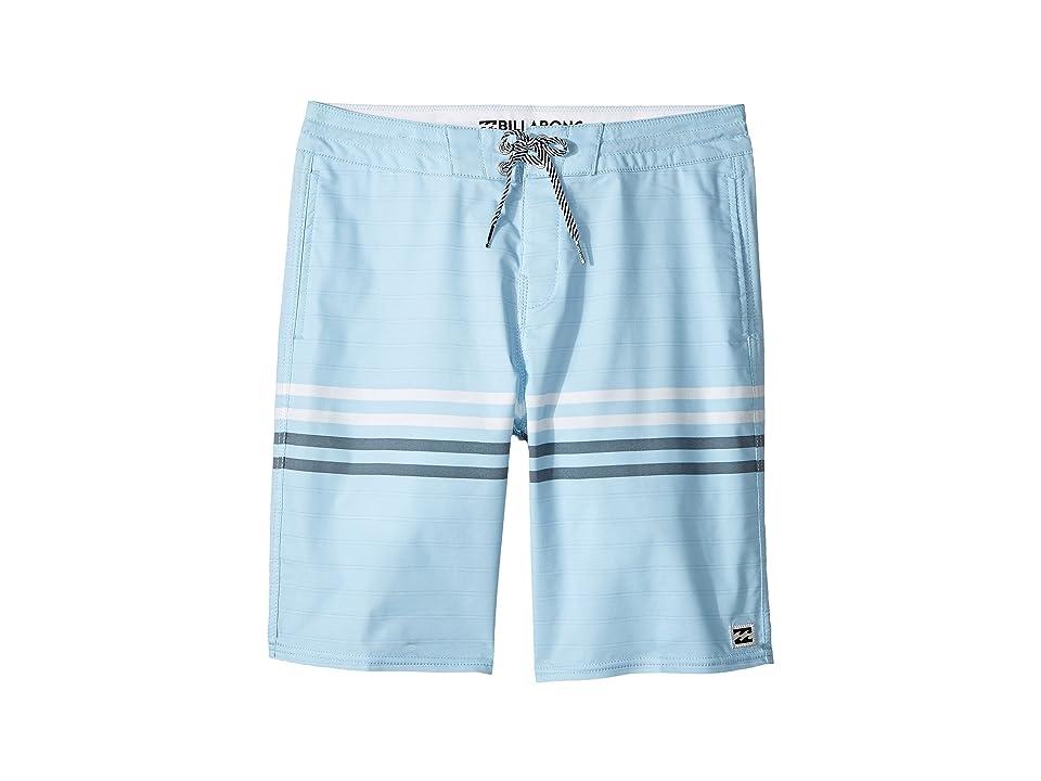 Billabong Kids Spinner LT Boardshorts (Big Kids) (Coastal) Boy