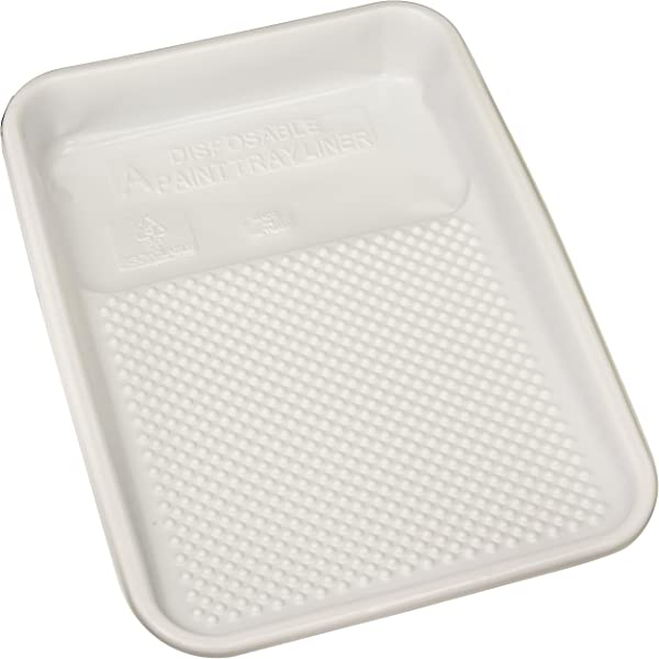 Linzer RM4110 RM 4110 Plastic 10 Pack Paint Tray Liner White