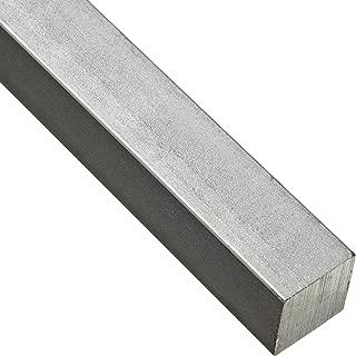 Steel Key Stock, Zinc Plated, Oversized Tolerance, 1-3/4
