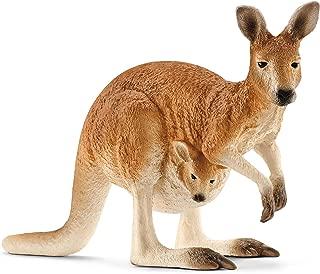 Schleich Kangaroo Toy Figure, Brown, 14756