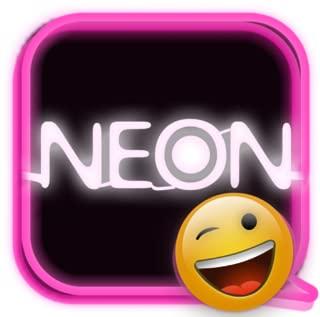 GOSMS NEON Hot Pink Theme