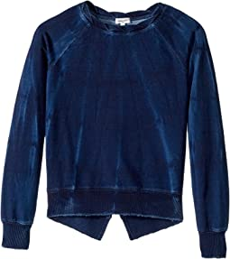 Splendid Littles - Baby French Terry Indigo Sweatshirt (Big Kids)