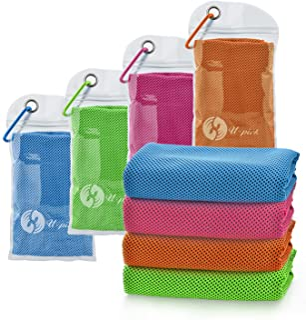 U-pick 4 Packs Cooling Towel (40