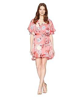 Kirsten Blossom Printed Wrap Dress