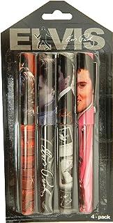 Elvis Presley Set Of 4 Pens
