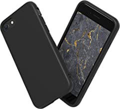 RhinoShield Coque Compatible avec [iPhone SE2 / iPhone Se (2020) / iPhone 8 / iPhone 7]   SolidSuit - Housse Fine avec Technologie Absorption des Chocs & Finition Premium - Noir Classic