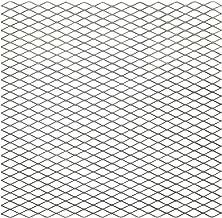 "National Hardware N301-606 4075BC Expanded Steel - 3/4"" Grid, 13 Gauge in Plain Steel, 24"" x 24"
