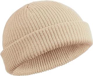 قبعة SATINIOR Trawler Beanie Watch Hat Roll-up Edge Skull Cap Fisherman Beanie للرجال والنساء