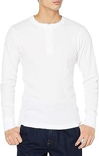 [ヘインズ] サーマルヘンリーロングTシャツ ビーフィー HM4-S104 メンズ