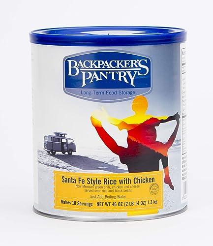 Backpacker Pantry - Santa Fe riz avec du poulet, 46 onces