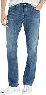 AG Adriano Goldschmied Men's Everett Slim Straight Leg Jeans in Bayou