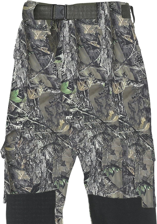 Fladen Authentic Wear vollstndig wasserdicht und Winddicht Outdoor Utility Hose–Woodland Forest Camouflage und Khaki Design–Ideal für Angeln, Jagd und hnliche Pursuits