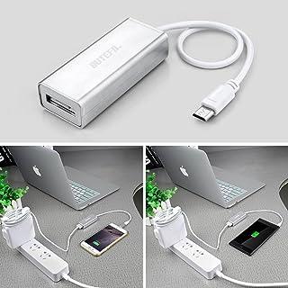 BUTEFO アップルのMagSafe 2 マイクロUSBコンバータマイクロUSB充電とデータ転送ケーブル変換アダプタ シルバー