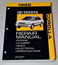 Best corolla factory service manual Reviews