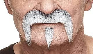 Mustaches Fake Mustache, Self Adhesive, Novelty, The Zappa False Facial Hair
