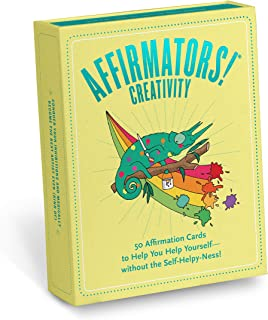 Affirmators! Creativity Deck: 50 Affirmation Cards to Help You Help Yourself - Without the Self-Helpy-Ness!