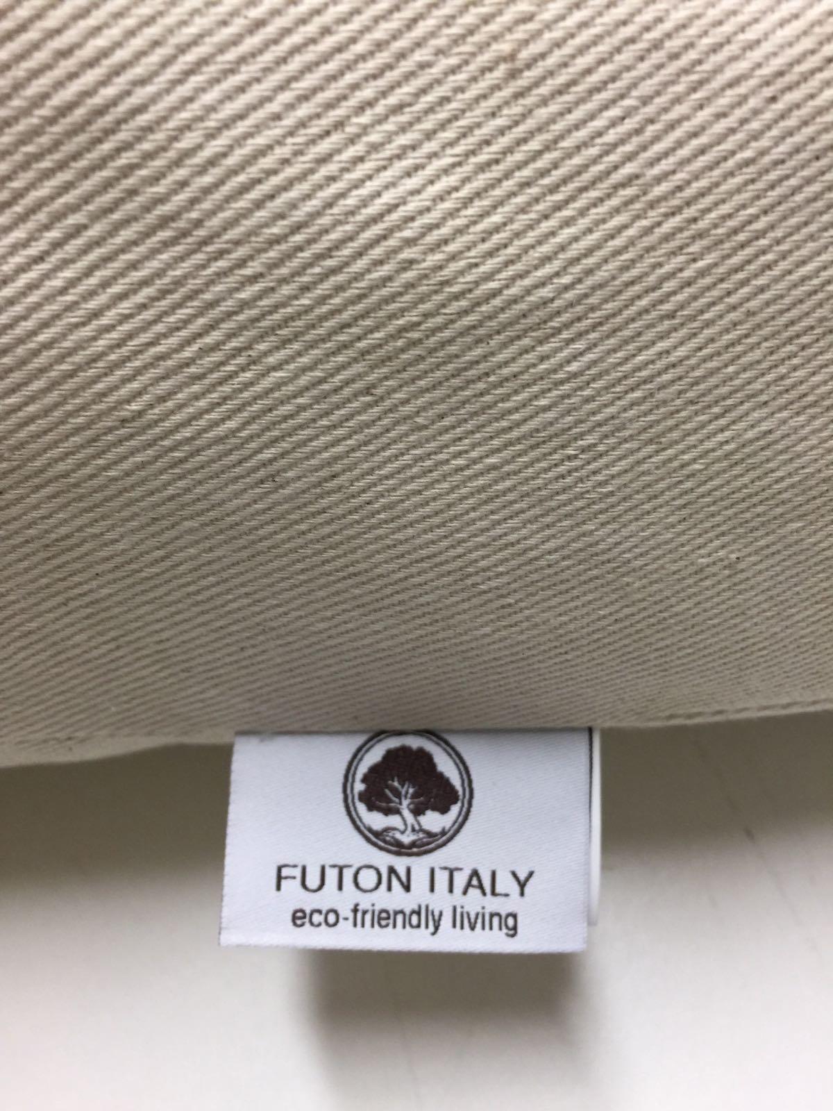 Futón colchón de látex y puro algodón hecho a mano en Italia 160 x 200 cm: Amazon.es: Hogar