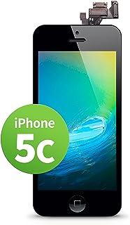 GIGA Fixxoo Pantalla LCD Tàctil de Repuesto para iPhone 5c, Retina Display, Cámara y Sensor de proximidad, Video guía DYI Paso a Paso Simple, Separador Digitalizador