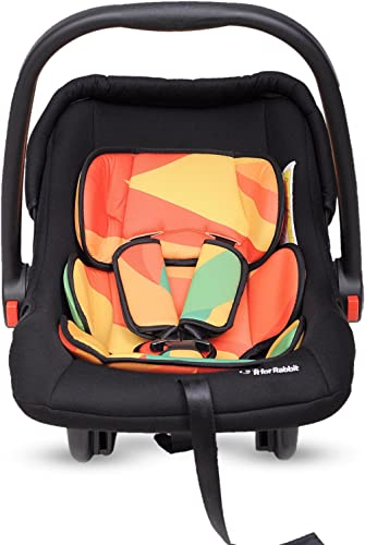 R for Rabbit Picaboo 4 in 1 Multi Purpose Baby Carry Cot,Car Seat, Rocker,Feeding Chair for Infant Babies of 0 to 15 ...