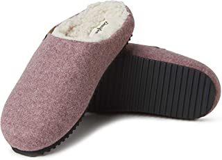 Dearfoams Women's Microwool Molded Footbed Clog