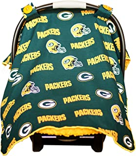 Baby Fanatic Car Seat Canopy, Green Bay Packers