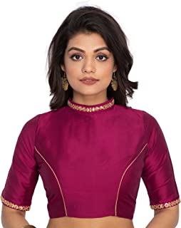 9885ccda12288f Amazon.in: Purples - Blouses / Ethnic Wear: Clothing & Accessories