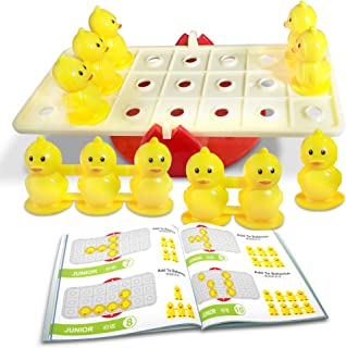 Gamie Balanced Duckling Game for Kids - Fun Educational Learning Game for Boys and Girls - 40 Different Challenges - Develops Concentration, Cognitive Thinking, and Hand-Eye Coordination