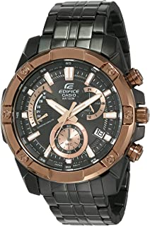 Casio Edifice Edifice Analog Black Dial Men's Watch-EFR-559DC-1BVUDF (EX492)