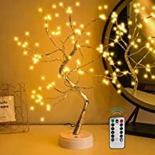 WeLove_1 Upgraded Fairy Sparkly DIY Tree Lamp with Multifunction Remote Control, Spirit Artificial Bonsai Tree Lights, for...