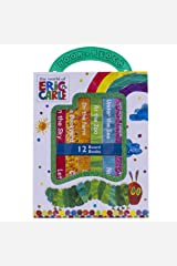 World of Eric Carle, My First Library Board Book Block 12-Book Set - First Words, Alphabet, Numbers, and More! - PI Kids Board book