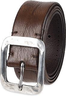 John Varvatos mens Leather Belts for Men Dress Casual for Jeans Belt