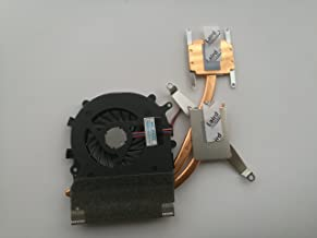 HK-part Replacement Fan for Sony Vaio VPCEB VPCEA VPCEC Series Cpu Cooling Fan with Heatsink UDQFRZH14CF0 300-0001-1276 300-0001-1276_A 3-Pin 3-Wire