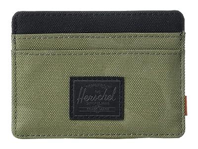 Herschel Supply Co. Charlie RFID (Dusty Olive/Tonal Camo) Wallet Handbags