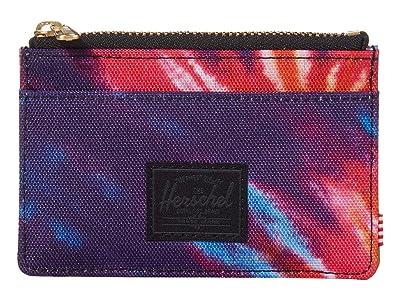 Herschel Supply Co. Oscar RFID (Rainbow Tie-Dye) Wallet Handbags
