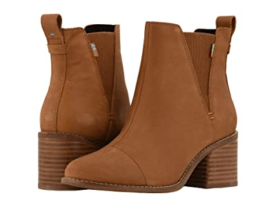 TOMS Esme (Tan Leather) Women
