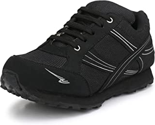Sir Corbett Men's Jogging Black Sports Shoes(Big