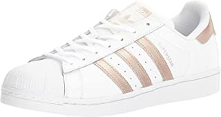 adidas Originals Unisex-Child Girls - Superstar Foundation El C White Size: