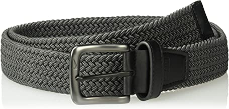 Nike Men's G-Flex Woven Stretch Golf Belt, dark grey, Medium