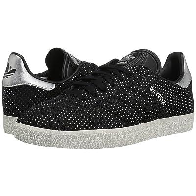 adidas Originals Gazelle (Core Black/Silver Metallic) Women