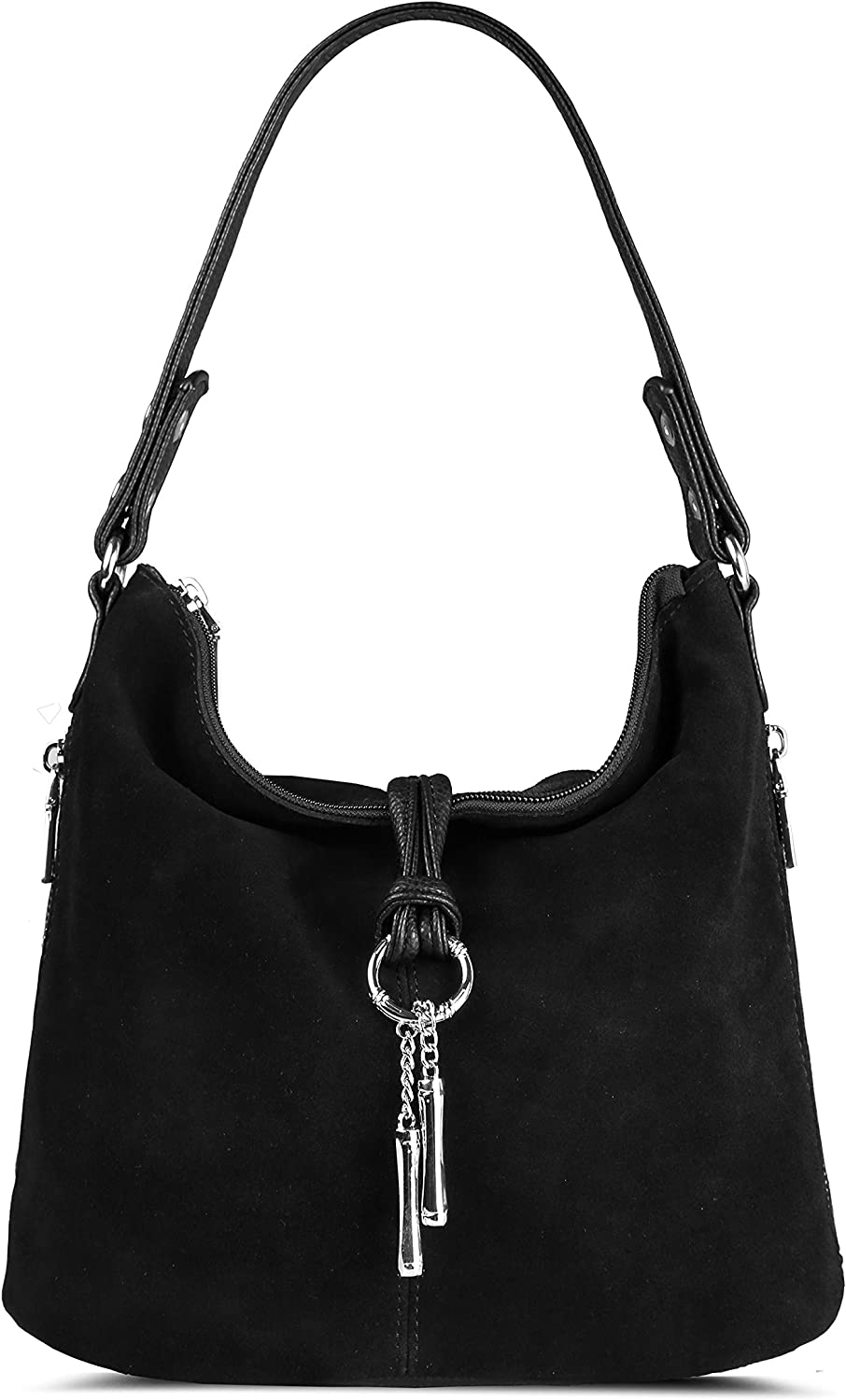 Nico Louise OFFicial Women Max 49% OFF Purse Suede Split Real Bag Shoulder Ca Leather