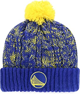 OTS NBA Women's Brilyn Cuff Knit Cap with Pom