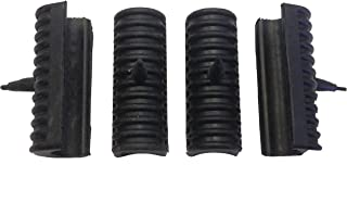 Replacement Rubber Mounts /Support Cushions for Harley Davidson Touring Hard Saddlebags (4 pieces)