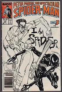 PETER PARKER SPECTACULAR SPIDER-MAN #133 Marvel comic book 12 1987