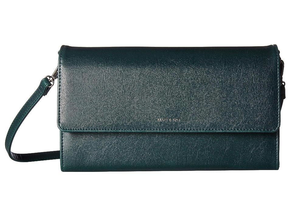 Matt & Nat Vintage Drew Large (Emerald) Handbags