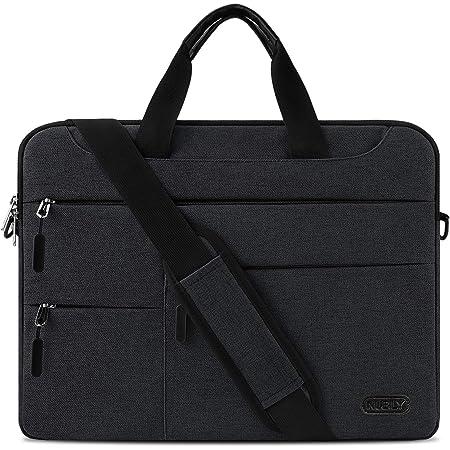 Borsa Porta PC Tracolla 15,6 Pollici Uomo e Donna Laptop Sleeve Borsa Notebook Computer Portatile Sottile e Impermeabile Lavoro Viaggio Borsa Nero