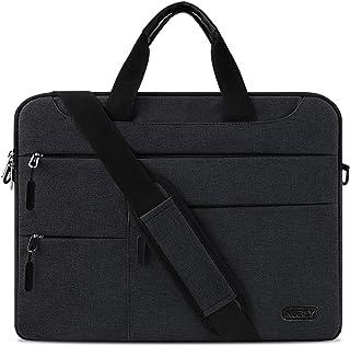 Borsa Porta PC Tracolla 15,6 Pollici Uomo e Donna Laptop Sleeve Borsa Notebook Computer Portatile Sottile e Impermeabile L...