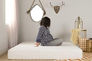 South Shore Somea Basic 8'' Memory Foam Mattress - Queen Size - White Jacquard Fabric